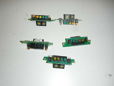 Lot Of 5 Led And Trimpot Boards Arduino 5468