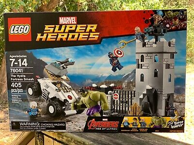 LEGO 76041 2015 Marvel Super Heroes Avengers The Hydra Fortress Smash