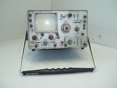 Tektronix Oscilloscope 453-2a For Parts Repair Powers Up Dont Know How To Use