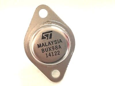 10 Pieces Bux98a To-3 High Power Npn Silicon Transistor New Original St