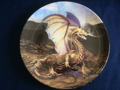 "Danbury Mint The Dragons Of Enchantica ""The Dessert Dragon"" (some scratches)"