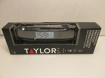 Taylor Precision Models - Taylor 538 Pro Model Commercial Precision Thermometer w Probe & LED Readout
