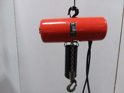 Cm Lodestar Model L 1 Ton 2000lb Electric Chain Hoist 10 Lift 16fpm 110v 1ph