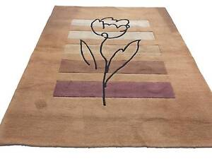 Thick rug - floral motif (210x 150 cm) Lilyfield Leichhardt Area Preview