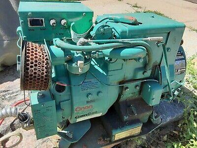 Run Gas Generator Onan 3.0 Aj-1r Local Pick Up