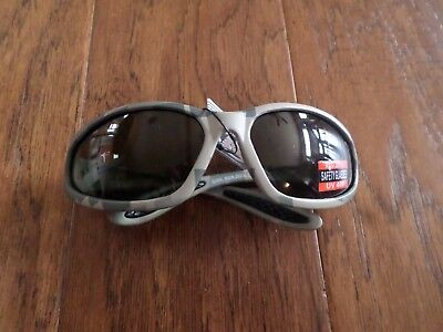 DIGITAL CAMOUFLAGE SMOKED LENS SUN SAFETY GLASSES U.S.A MADE Digitale Sonnenbrille