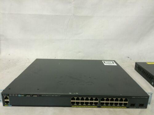 Cisco Catalyst Ws-c2960x-24pd-l Gige Poe 370w, 2 X 10g Sfp+, Lan Base