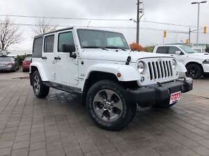 2018 Jeep WRANGLER UNLIMITED SAHARA**NAVIGATION**TRAILER TOW GRO