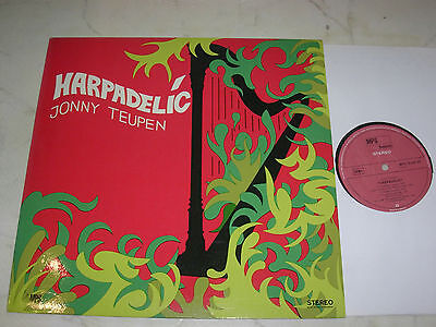 JONNY TEUPEN Harpadelic *ORIGINAL GERMAN 1st MPS LABEL 60s LP*NEAR MINT*