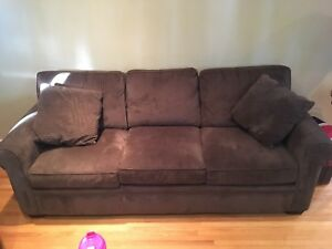 Brown couch - 3 person