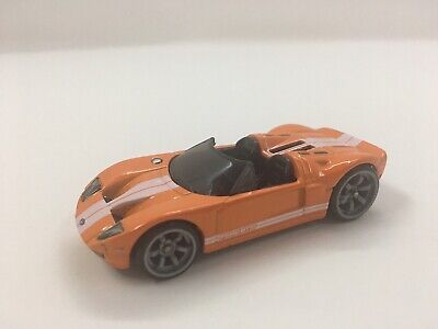 2010 HOT WHEELS SPEED MACHINES FORD GTX1 Orange  - Loose - Minty!