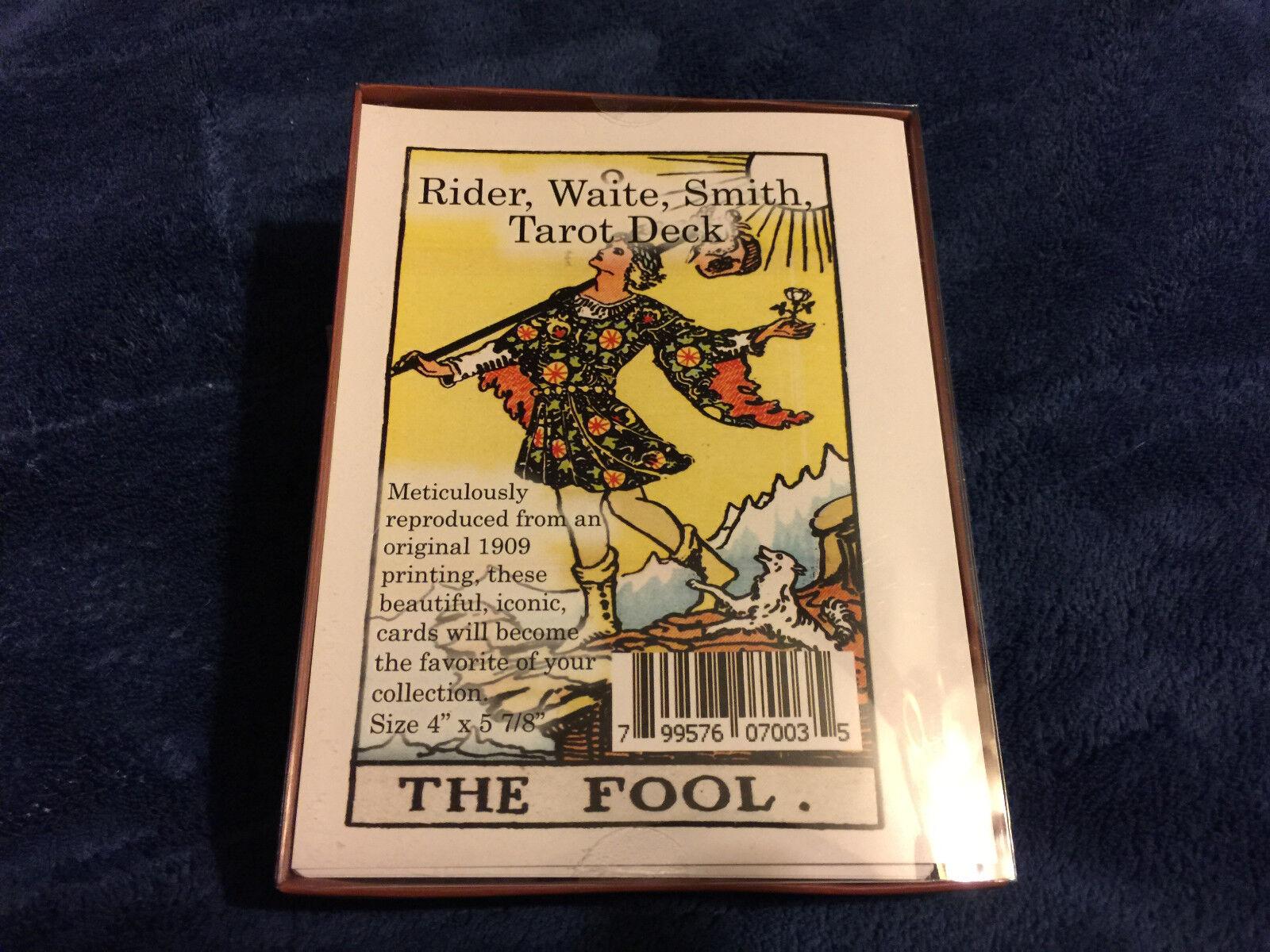 "Rider Waite Smith Tarot Cards Deck 78 Cards GIANT size deck 4"" x 5 3/4"""