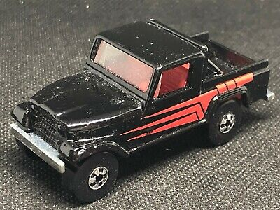OLD DIECAST HOT WHEELS BLACKWALL JEEP SCRAMBLER MADE IN INDIA