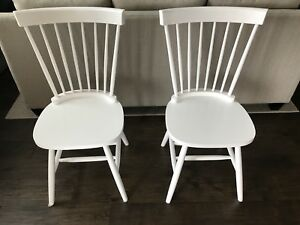 White Kitchen/Dining Chairs