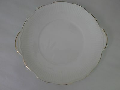 Vintage Elizabethan Fine Bone China Two Handled Cake Plate Platter Tray Bone China Fine China Platter
