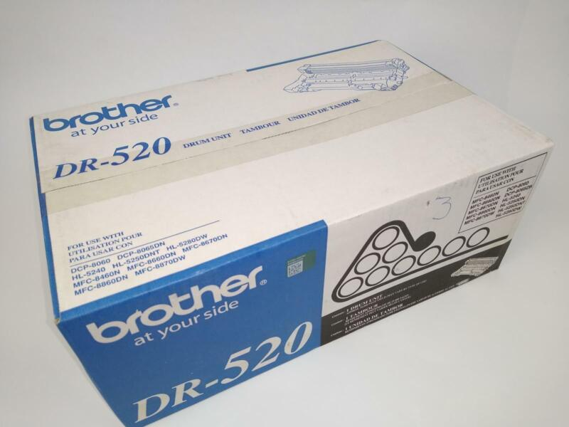 NEW Genuine OEM Brother DR-520 Drum Unit