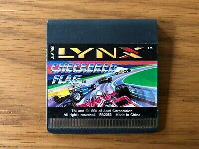 Atari Lynx Unboxed Game - Checkered Flag by Atari Corp