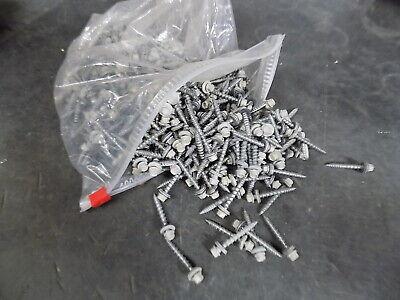 1 34 Sierra Tan Metal Roofingsiding Screws 4 Lb