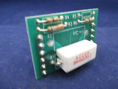 Electrol 2800-2857 Pc Resistor Board Assembly