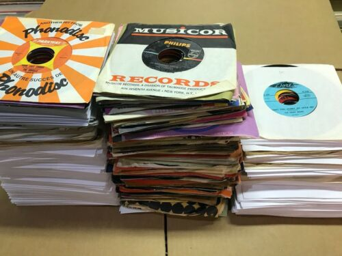 HUGE lot of 250 Early Rock & Roll / Doo Wop & Oldies 45 RPM RECORDS - 50s & 60s