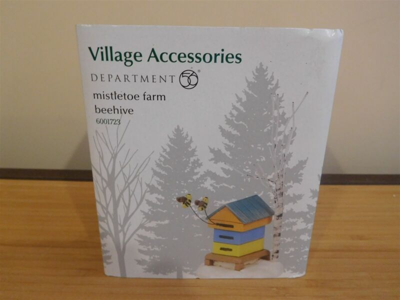 Dept 56 Village Accessories - Mistletoe Farm Beehive - NIB