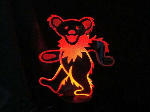 GRATEFUL DEAD LED COLORCHANGING DANCING BEAR  LIGHT LAMP