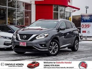 2015 Nissan Murano SL AWD CVT 1-Wner|Low KM|Heated Seats|Leather