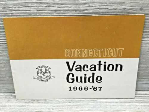 1966-67 Connecticut Vacation Guide Booklet