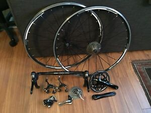 Shimano 105 10speed Components & Wheels