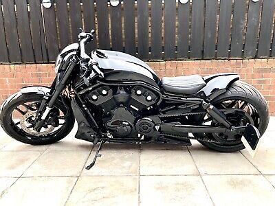 Custom Harley Davidson VROD Night Rod Special, 300 rear, air ride, V&H Exhaust