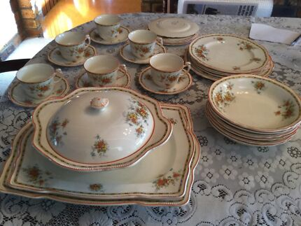 Collectable- Royal Winton Grimwades Dinner Service Carseldine Brisbane North East Preview