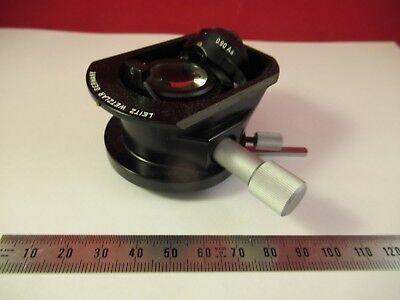 Leitz Wetzlar Germany Condenser Iris Microscope Part As Pictured Ft-4-120