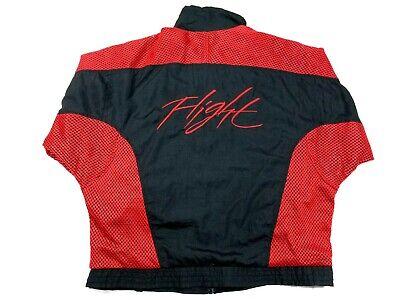Vintage Men's 1989 Nike Air Jordan IV 4 Flight Windbreaker Jacket Size XL