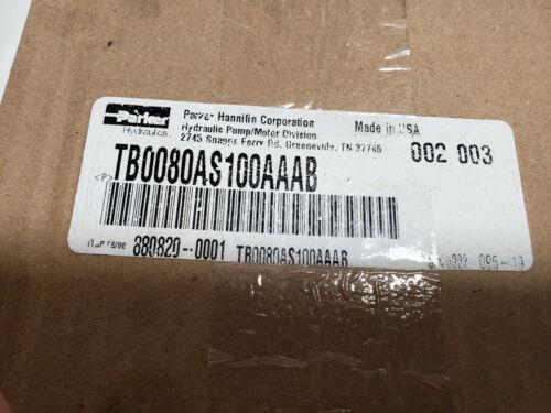 Parker Hydraulic Motor TB0080AS100AAAB