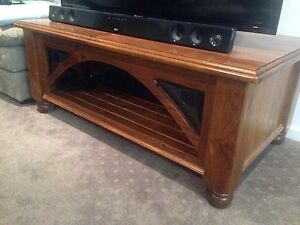 Solid Wooden Lead-light Coffee Table Burnie Burnie Area Preview