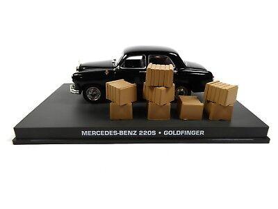 Mercedes Benz 220 S James Bond 007 Goldfinger - 1:43 Diecast Model Car DY117