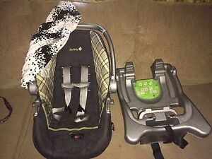 Infant Carrier with base & car seat cover