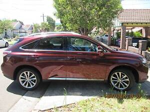 2012 Lexus RX350 Sports Luxury - only 36,500KMs Arncliffe Rockdale Area Preview