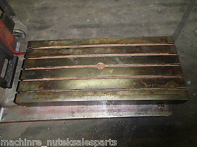 39.50 X 18 X 6 Steel Welding T-slotted Table Cast Iron Layout Plate Weld