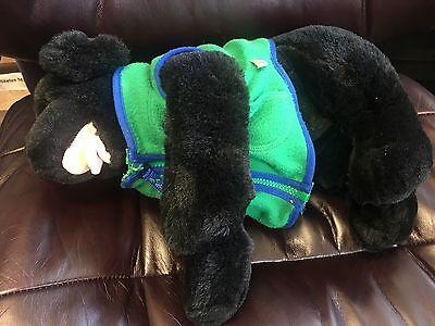 BABW~Build A Bear- Labrador Black LAB Dog 14