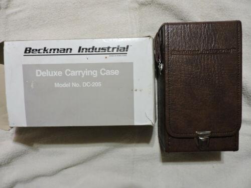 Vintage NOS 1981 Beckman Deluxe Carrying Case model DC-205~Digital Multimeters