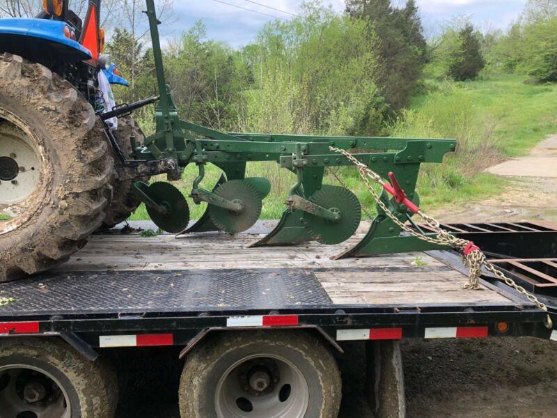 Used Oliver 3-14 Inch Turning Plow    3 Pt Hitch, Adjustable Tilt
