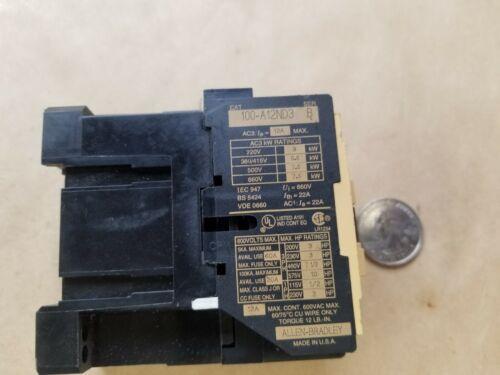 A-B/Allen-Bradley 100-A12ND3 Contactor