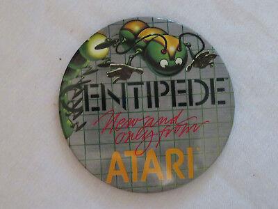 Vintage Atari Centipede Pinback Pin