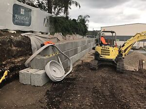 Excavation & retaining walls Ewingsdale Byron Area Preview
