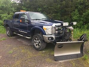 2011 F250 with Snowplow