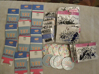 34pc Yay Summer/Ant Theme Party/Picnic Pack-T@rget-Coasters-Koozies-Banner-EB-58