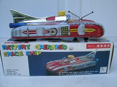 Astronef Battery Operated Space Ship in Box, ME - Space Toys