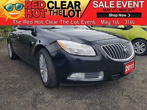 2011 Buick Regal CXL CERTIFIED! ACCIDENT FREE! LEATHER! WARRANTY