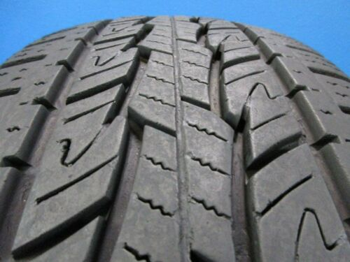 One Used General Grabber HTS  LT245 75 17  9-10/32 Tread  Repair Free  C1258